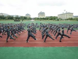 军训来一回  青春不后悔 — 我中心IG新生在军训中荣获优秀中队