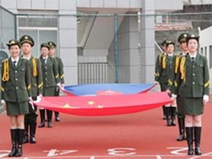 国旗下成长 |国旗班正式成立