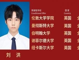 毕业生分享 | 刘洪:勇敢面对生活里的磨难,在黑暗里发光