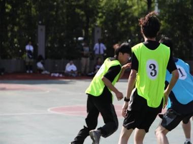 【校园活动】热血之战,挥洒青春|记我校精彩的篮球赛